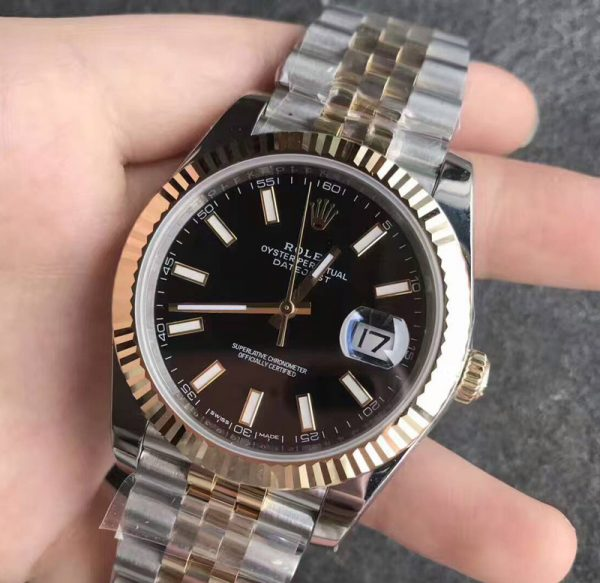 Rolex datejust jubilee two tone