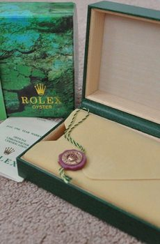 Rolex box full set με τσάντα