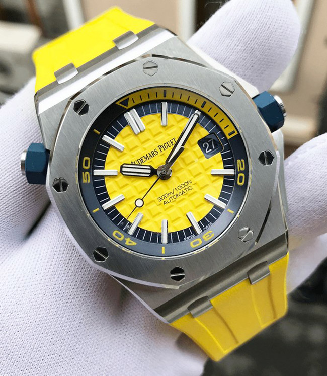 Audemars Piguet Royal Oak diver yellow
