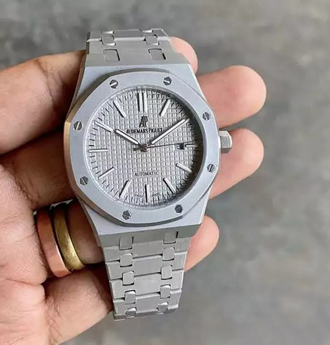 Audemars Piguet Royal Oak silver