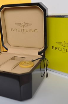 Breitling box full set