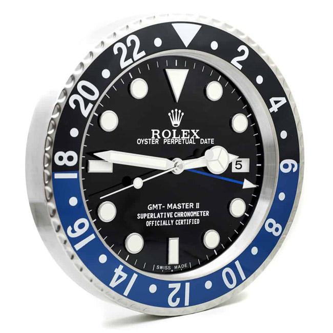 Rolex gmt batman display clock