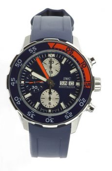 Iwc Aquaracer chronograph blue
