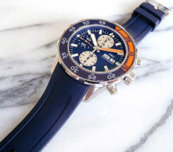 Iwc Aquaracer chronograph blue