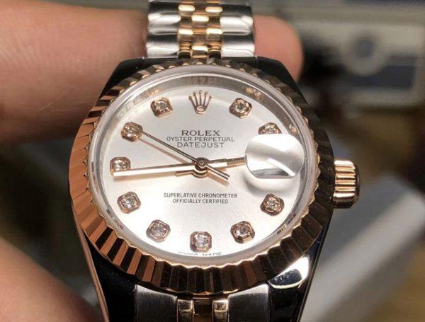 Rolex Datejust two tone