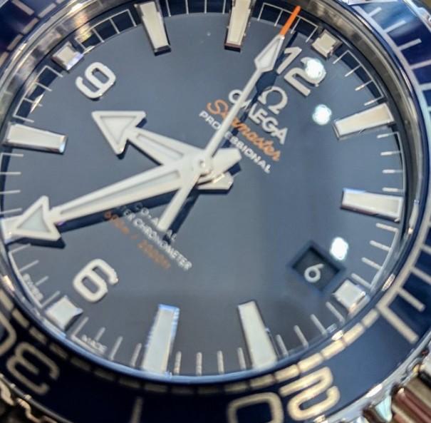 Omega Seamaster blue