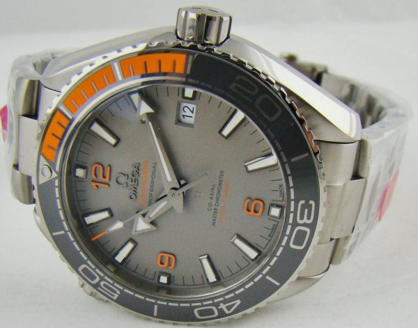 Omega Seamaster grey dial