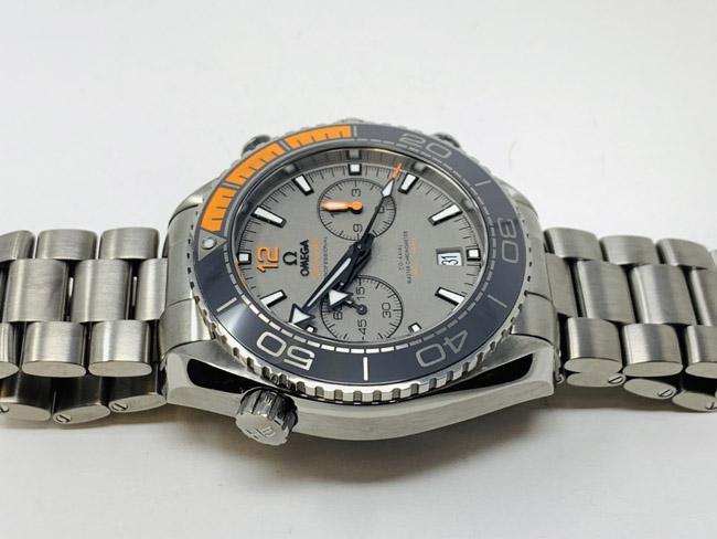 Omega Seamaster grey dial chronograph