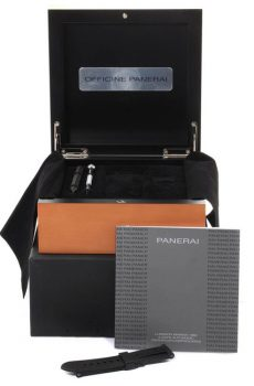 Panerai box full set με τσάντα