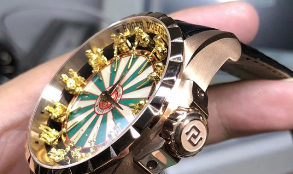 Roger Dubuis knights of round table