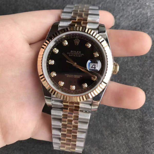 Rolex Datejust jubilee black face