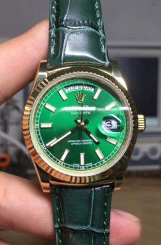 Rolex Daydate green