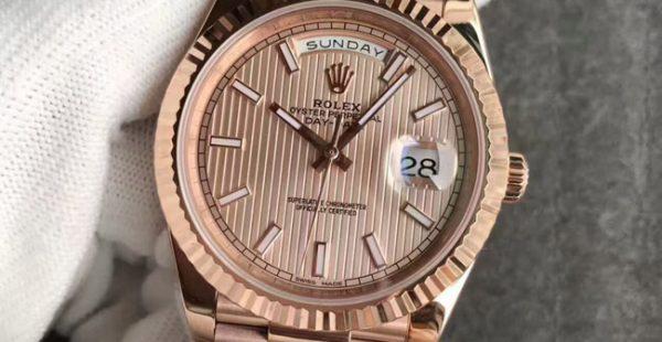 Rolex Daydate rose gold