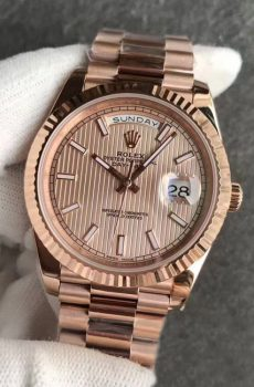 Rolex Daydate rose gold