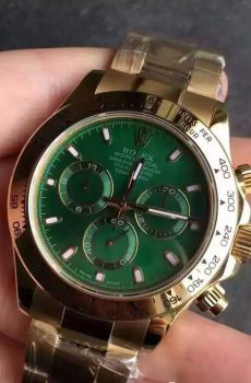 Rolex Daytona green face