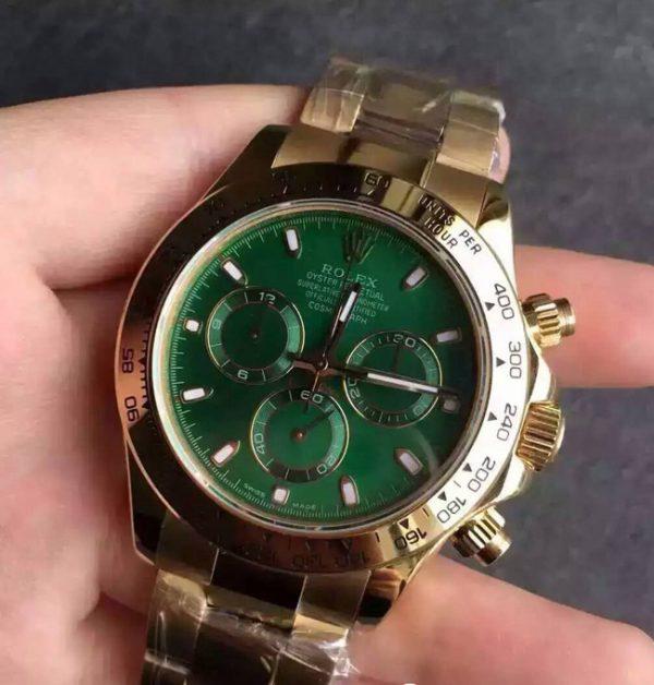 Rolex Daytona green face
