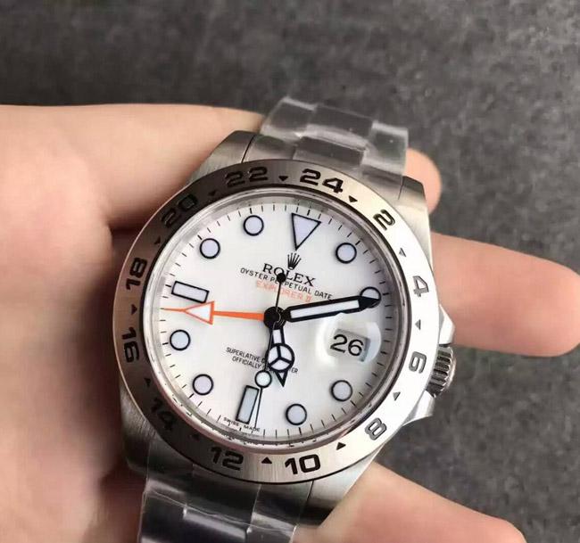 Rolex Explorer white face