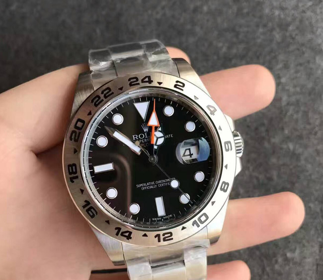 Rolex Explorer black face