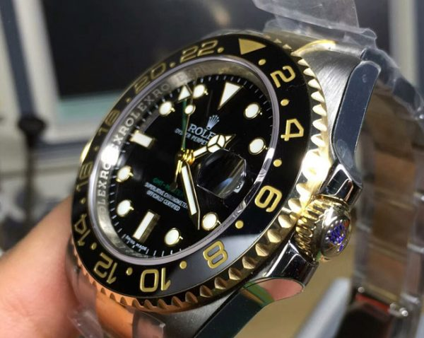 Rolex gmt two tone