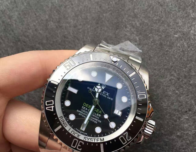 Rolex Deep Blue sea dweller Cameron