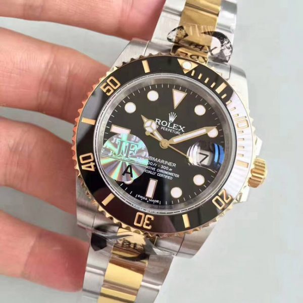 Rolex submariner black two tone
