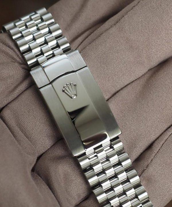 Rolex Datejust II grey dial jubilee