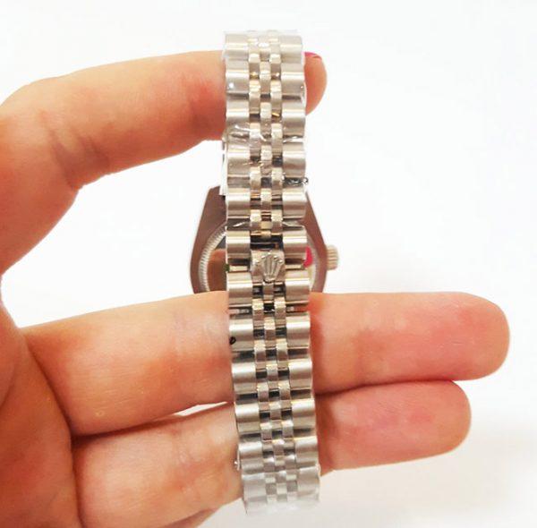 Rolex datejust jubilee silver dial
