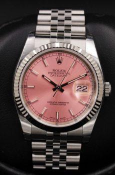 Rolex Datejust pink jubilee
