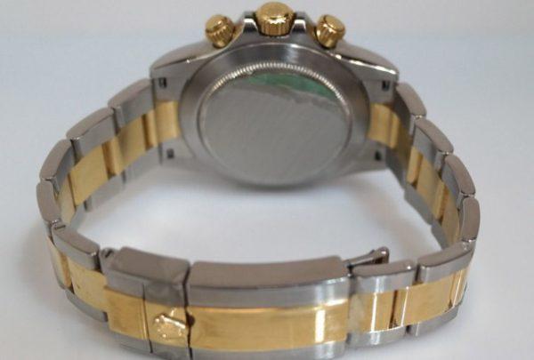 Rolex Daytona panda blue dial