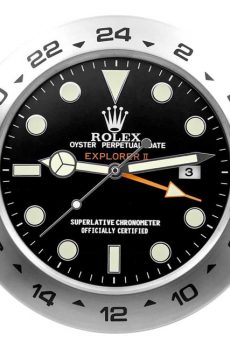 Rolex explorer 2 black display clock