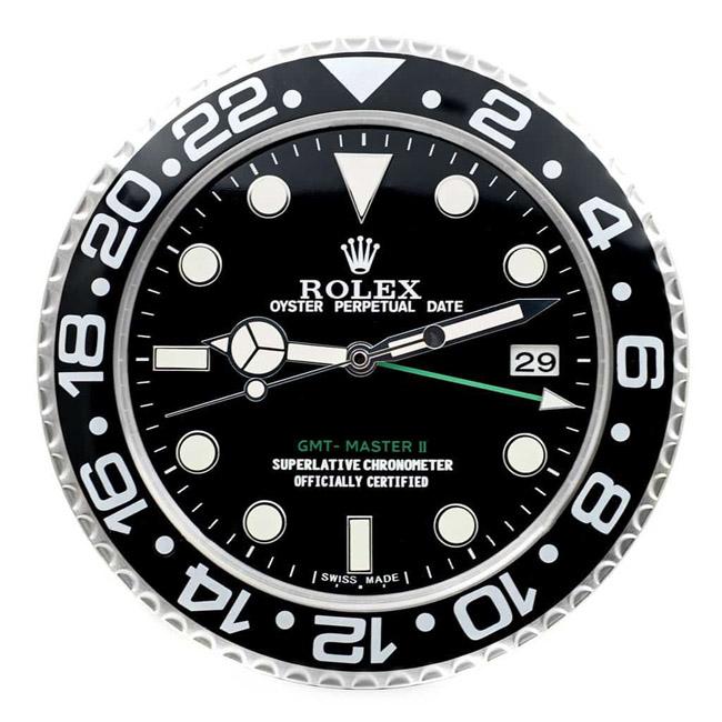 Rolex gmt master 2 display clock