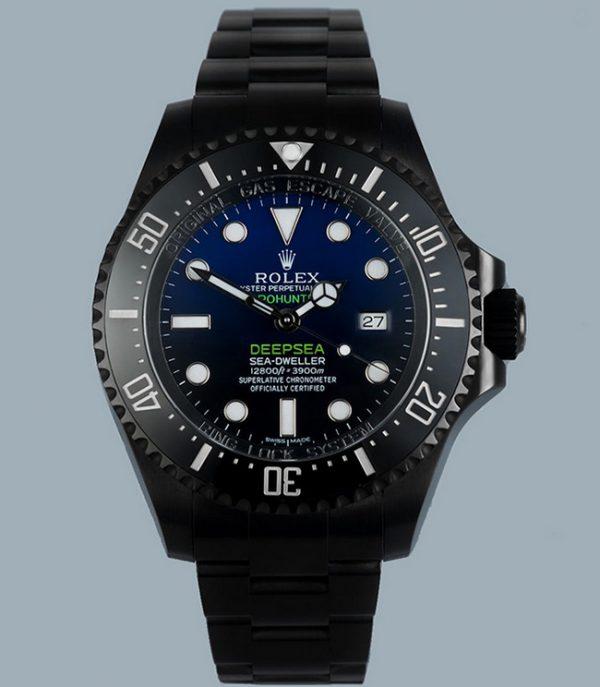 Rolex Pro hunter Deep Blue sea dweller Cameron
