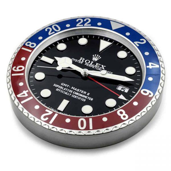 Rolex gmt pepsi display clock