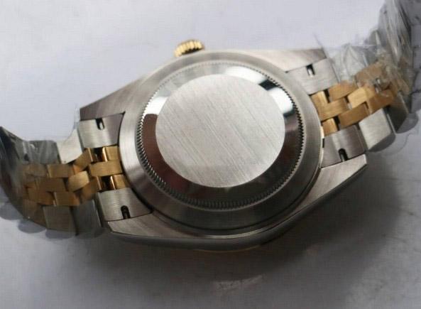 Rolex Datejust jubilee gold face 32mm