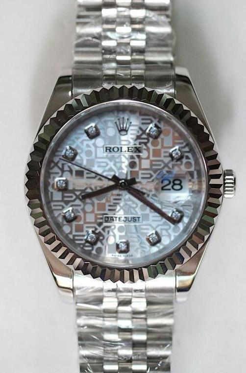 Rolex Datejust silver jubilee