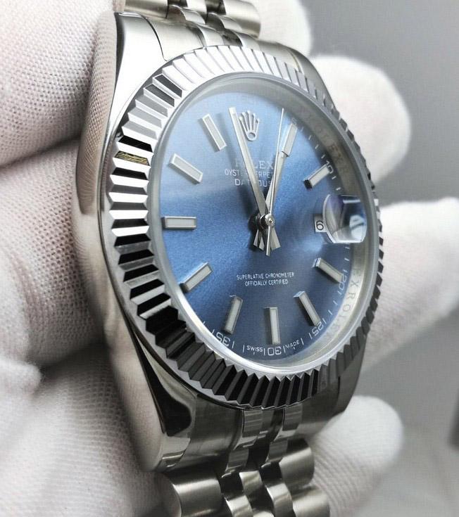 Rolex Datejust blue jubilee 36mm