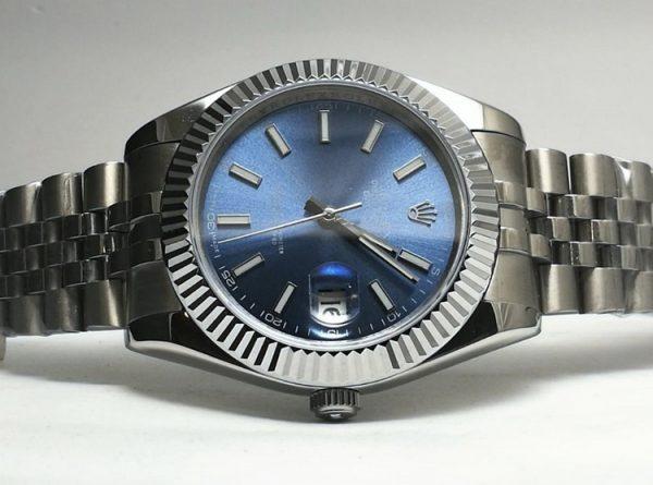 Rolex Datejust blue jubilee