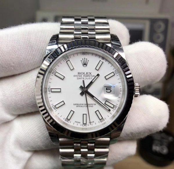 Rolex Datejust white jubilee