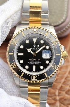 Rolex sea dweller 4000 gold