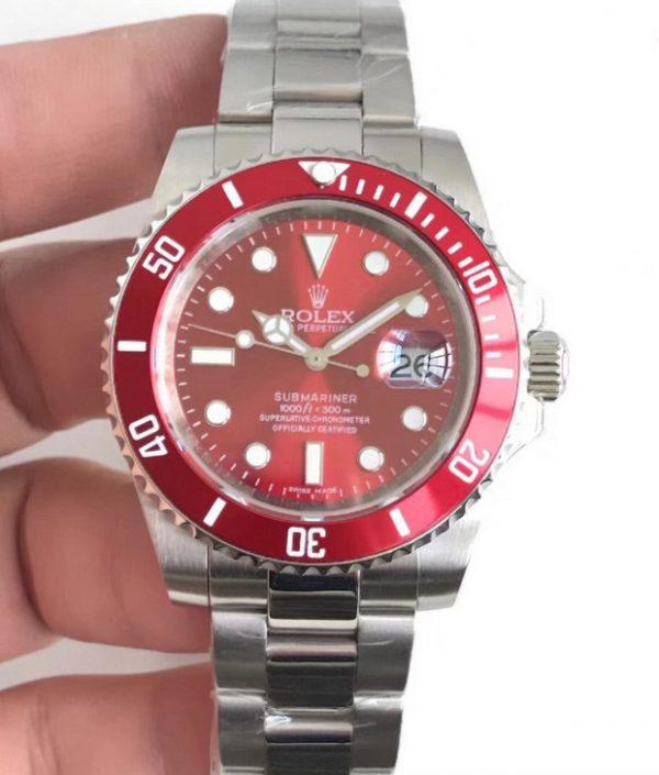 Rolex submariner red replica