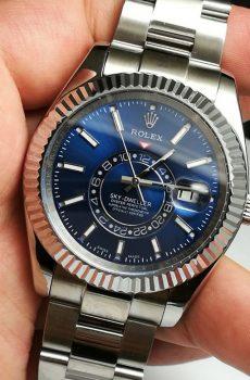 Rolex sky dweller blue