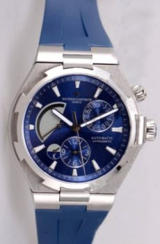 Vacheron Constantin overseas true blue